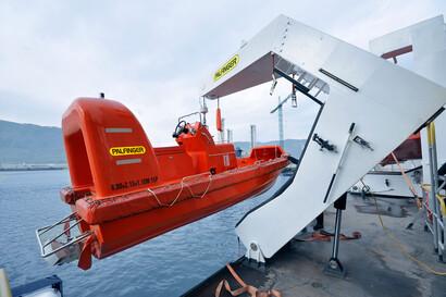 (Fast) Rescue Boat Davits