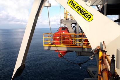 Offshore Davits | Hydraulic