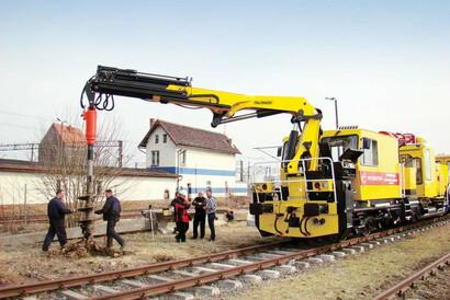 PALFINGER Railway - AUGERS