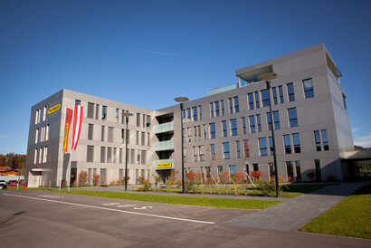 New global headquarters of the PALFINGER Group in Bergheim