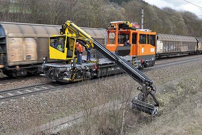 PALFINGER Railway - Gegengleissperre