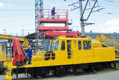 PALFINGER Railway - Fahrzeugmodernisierung - Zweites Leben