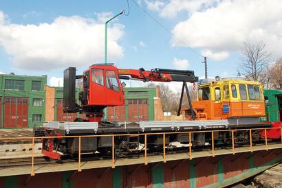 PALFINGER Railway - Fahrzeugmodernisierung