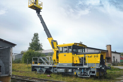 PALFINGER Railway - Fahrzeugmodernisierung - neuer Einsatz - altes Fahrzeug