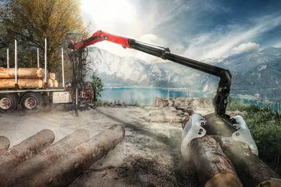 Timber & recycling cranes