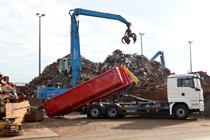 Recycling und Schrott