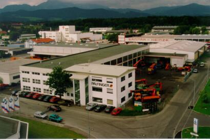Erste firmeneigene Werkstatt in Freilassing