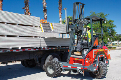 Truck Mounted Forklifts for Drywall