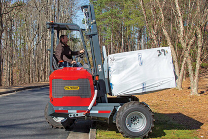 Truck Mounted Forklifts for Lumber