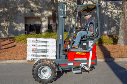 Truck Mounted Forklifts for Roofing