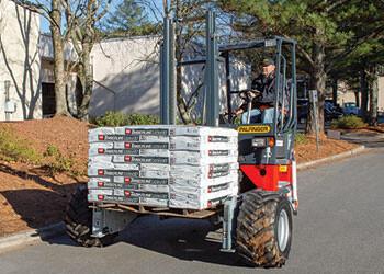 PALFINGER Truck Mounted Forklift Roofing Segment