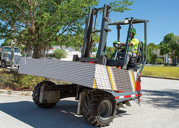 PALFINGER Truck Mounted Forklift Drywall Segment
