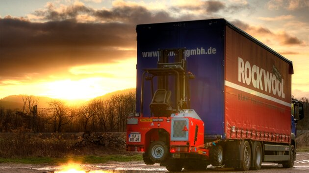 Truck Mounted Fork Lift