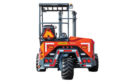 PALFINGER Truck Mounted Forklift Rear View