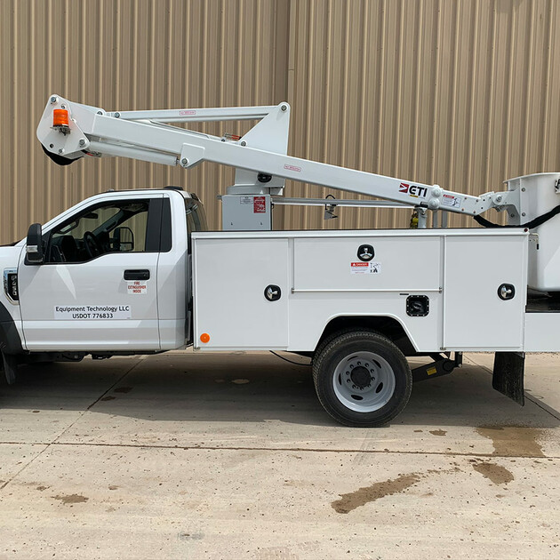 ETC 35 SNT Aerial Lift Truck