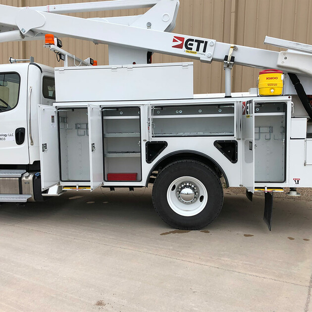 ETC 45 MH Aerial Lift Truck