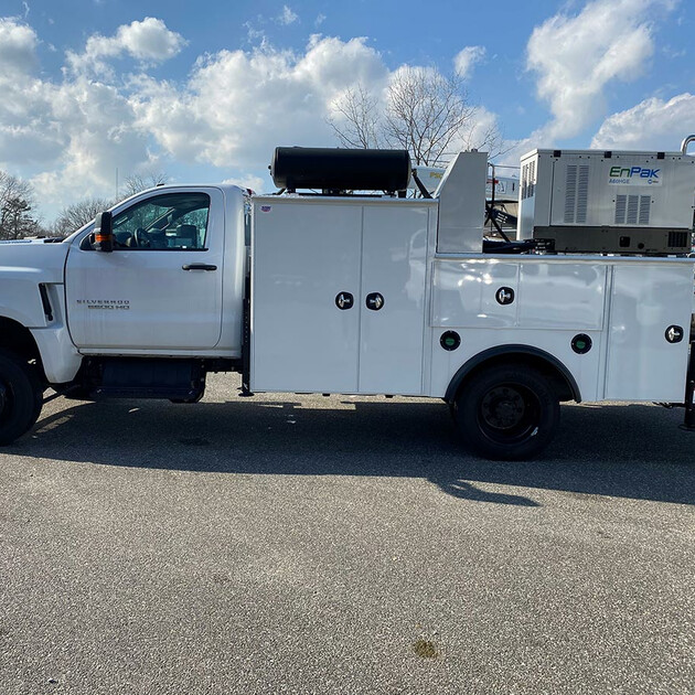 PALFINGER PAL Pro 43-11 Mechanics Truck