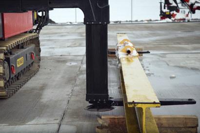 ADDITIONAL FORKS FOR TRANSPORT