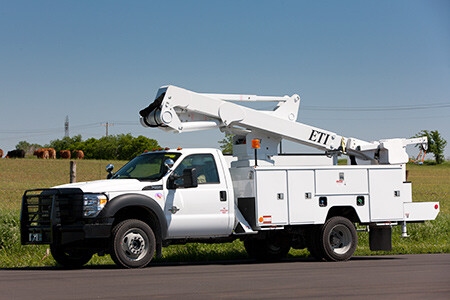 ETC 37 MH Aerial Lift Truck
