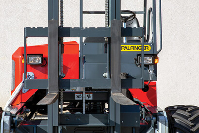 PALFINGER Truck Mounted Forklift Panoramic Visibility