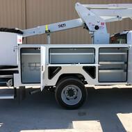 ETC 40 IH Aerial Lift Truck