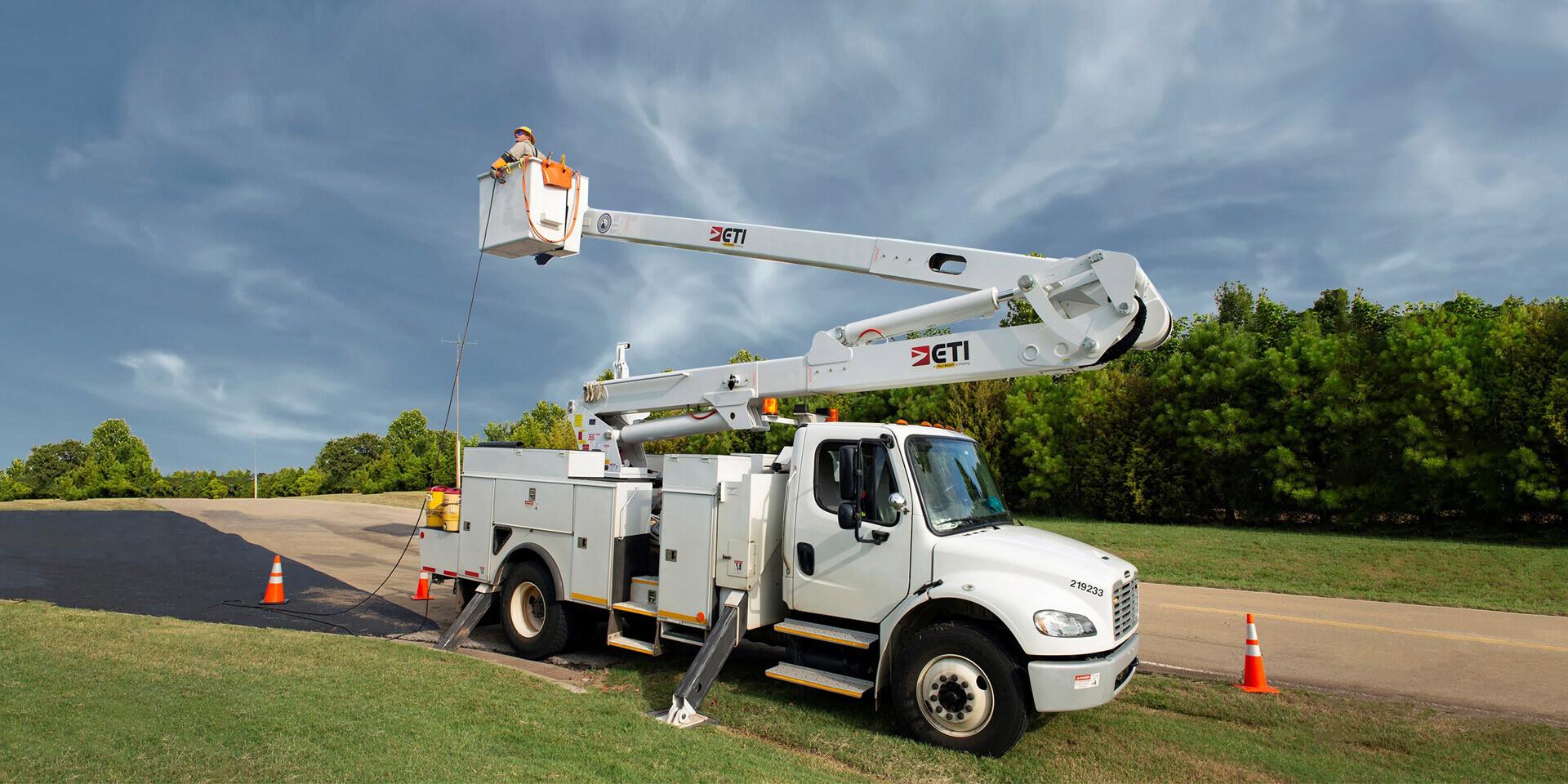 ETI ETO 55 MH Aerial Lift Truck
