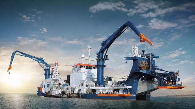 Offshore Krane