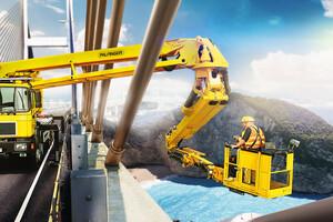 PALFINGER Sistema de Inspecção de Pontes