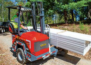 PALFINGER Truck Mounted Forklift Lumber Segment