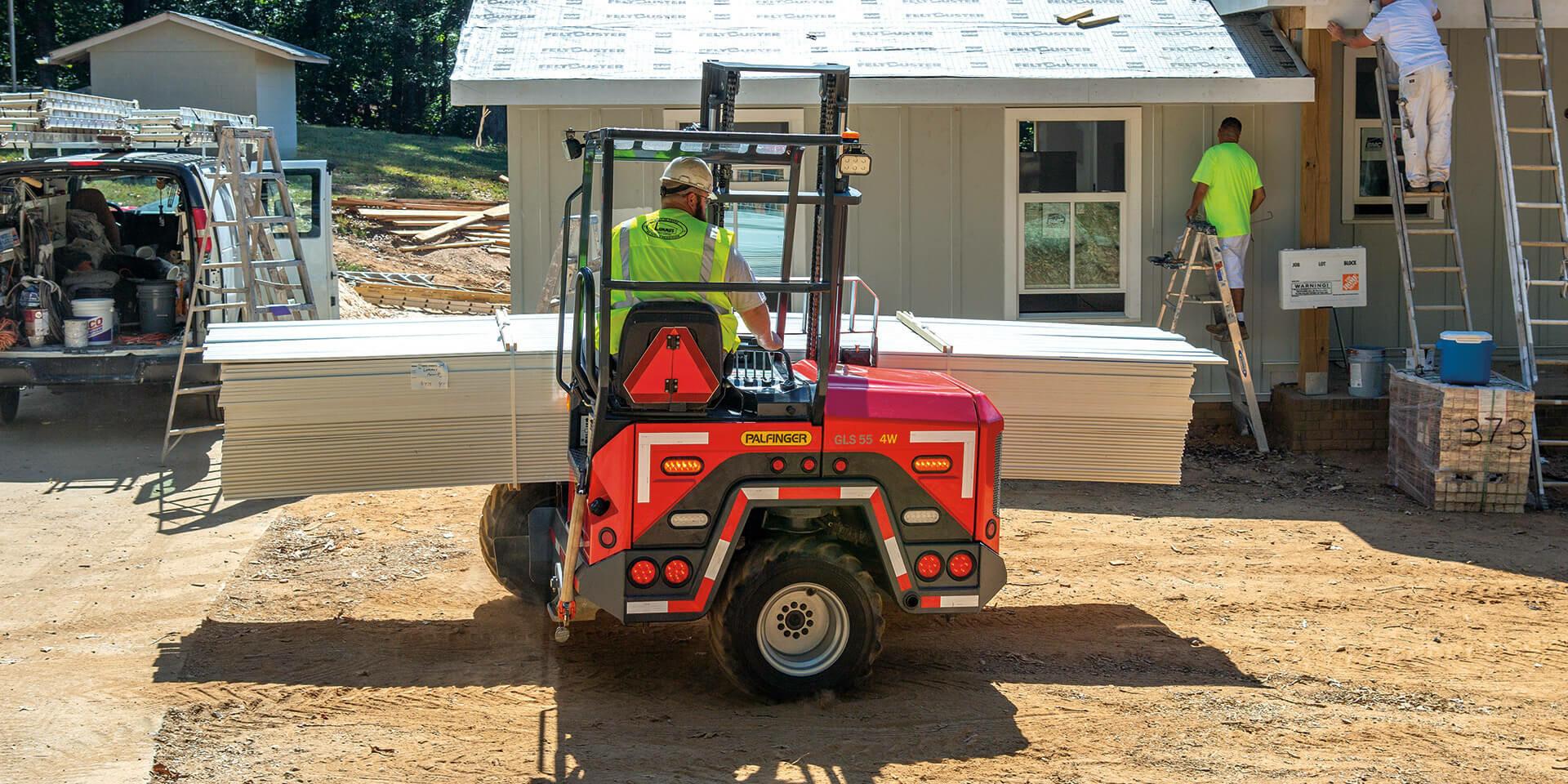 PALFINGER GLS 55 4-WAY Truck Mounted Forklift