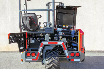 PALFINGER Truck Mounted Forklift Easy Service Access