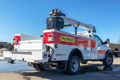 PAL Pro 20 with PSC 4025 Service Crane