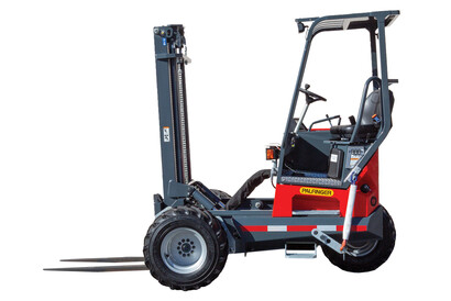PALFINGER Truck Mounted Forklift Side View
