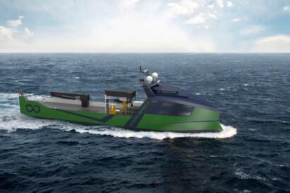 Marine Robotic Vessel for Ocean Infinity | © VARD Group